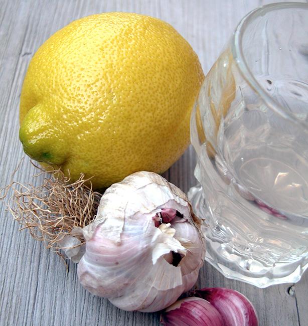 tisana aglio e limone