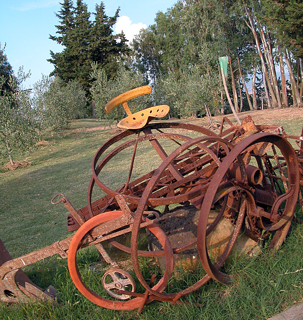 scultura di ferro