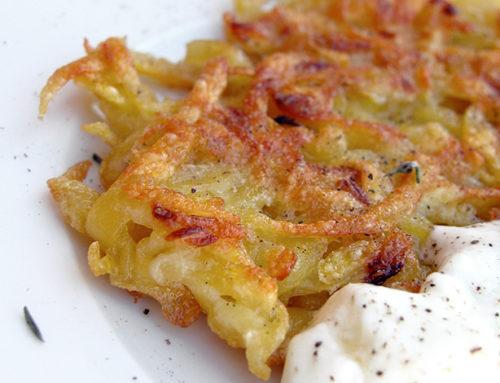Frittelle di patate definitive