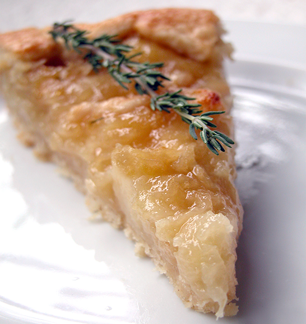 crostata di pesche ricetta
