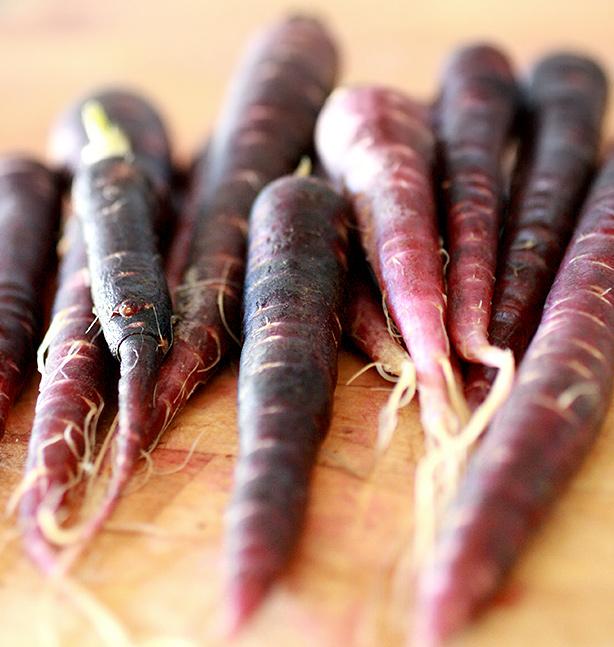 ricette con le carote viola