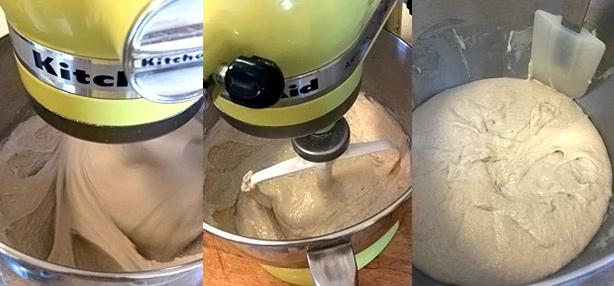 procedimento per fare il pane di grani antichi