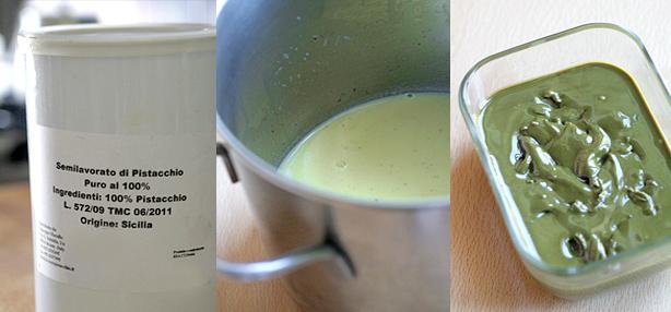 crema di pistacchio di bronte
