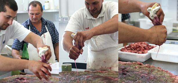 come preparare le salsicce