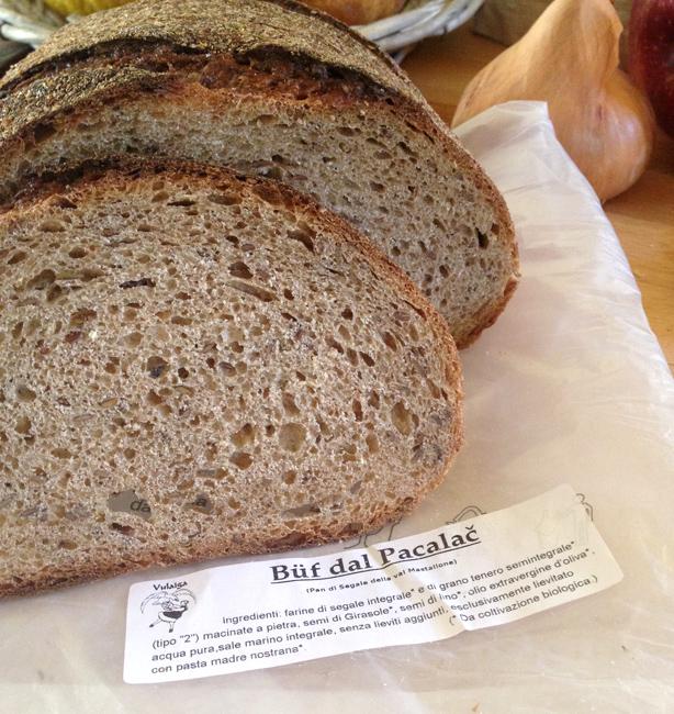 pane di segale a pasta madre