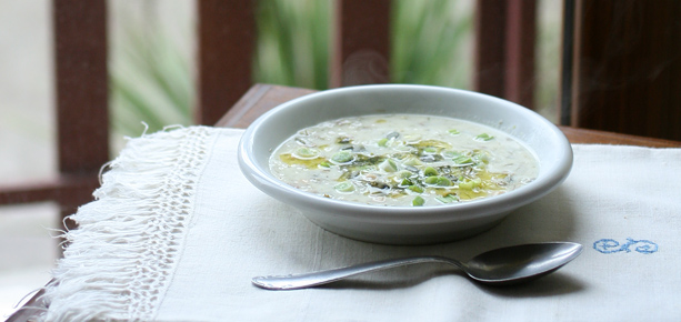 zuppa di yogurt persiana