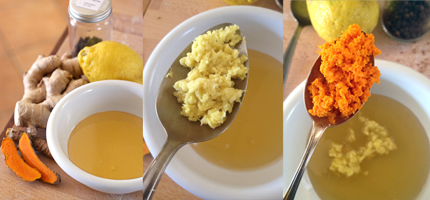 tè di curcuma