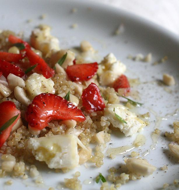 quinoa con le fragole