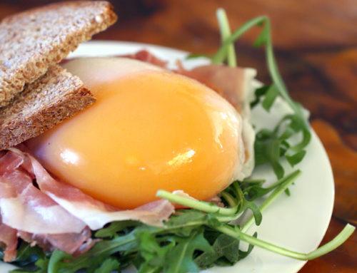 Uovo d'oca molto sperimentale