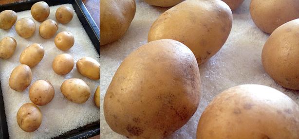 patate al forno per gli gnocchi