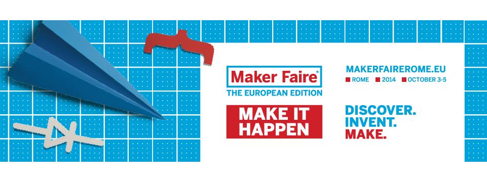Il pasto nudo<br />al Maker Faire Rome!