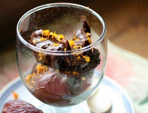 Crema di avocado al cacao
