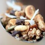 granola al cioccolato fatta in casa