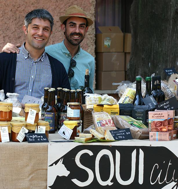Squicity mercato bio