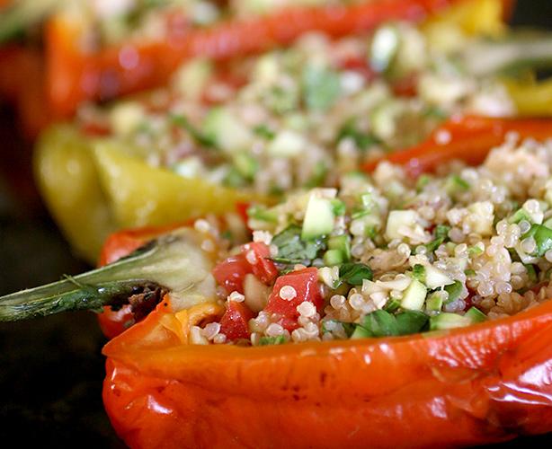 peperoni ripieni ricetta vegetariana