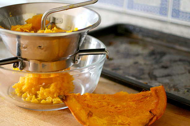 pumpkin puree homemade