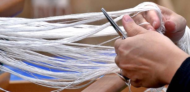 Fili di Sofia – tessitura a telaio