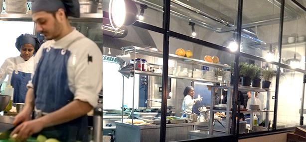 locali con cucina a vista Roma