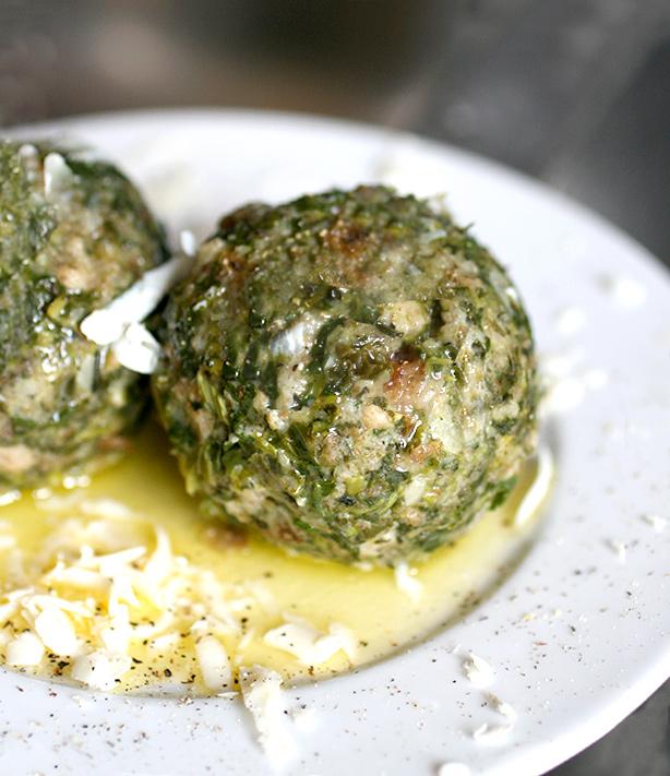 canederli di spinaci ricetta
