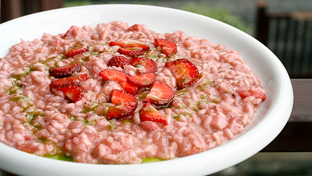 strawberry savoury recipe