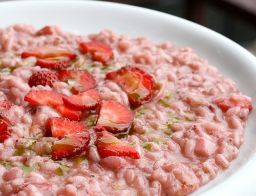 Risotto con le fragole, reloaded
