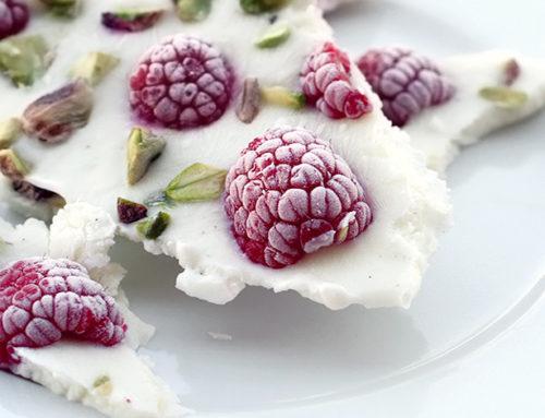 Yogurt gelato croccante