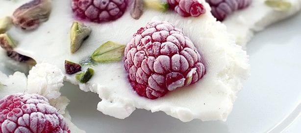 tavoletta di yogurt gelato