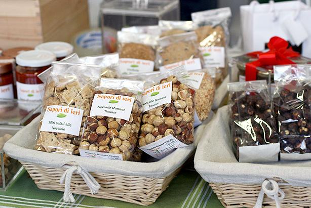 farmers' market rome