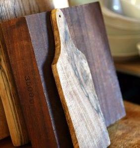 tagliere di legno pulizia